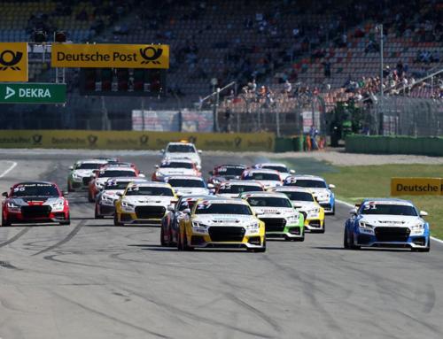 Trainingscamp des Audi TT-Teams