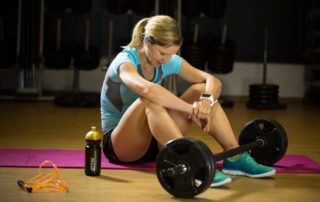 Anja Beranek - High pulse during exercise