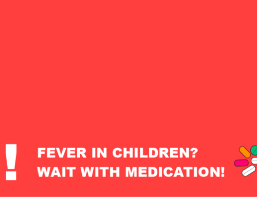 Fever In Children? Wait With Medication!