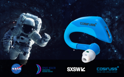 cosinuss One SpaceHealth is being considered to monitor astronauts at the next mission to mars