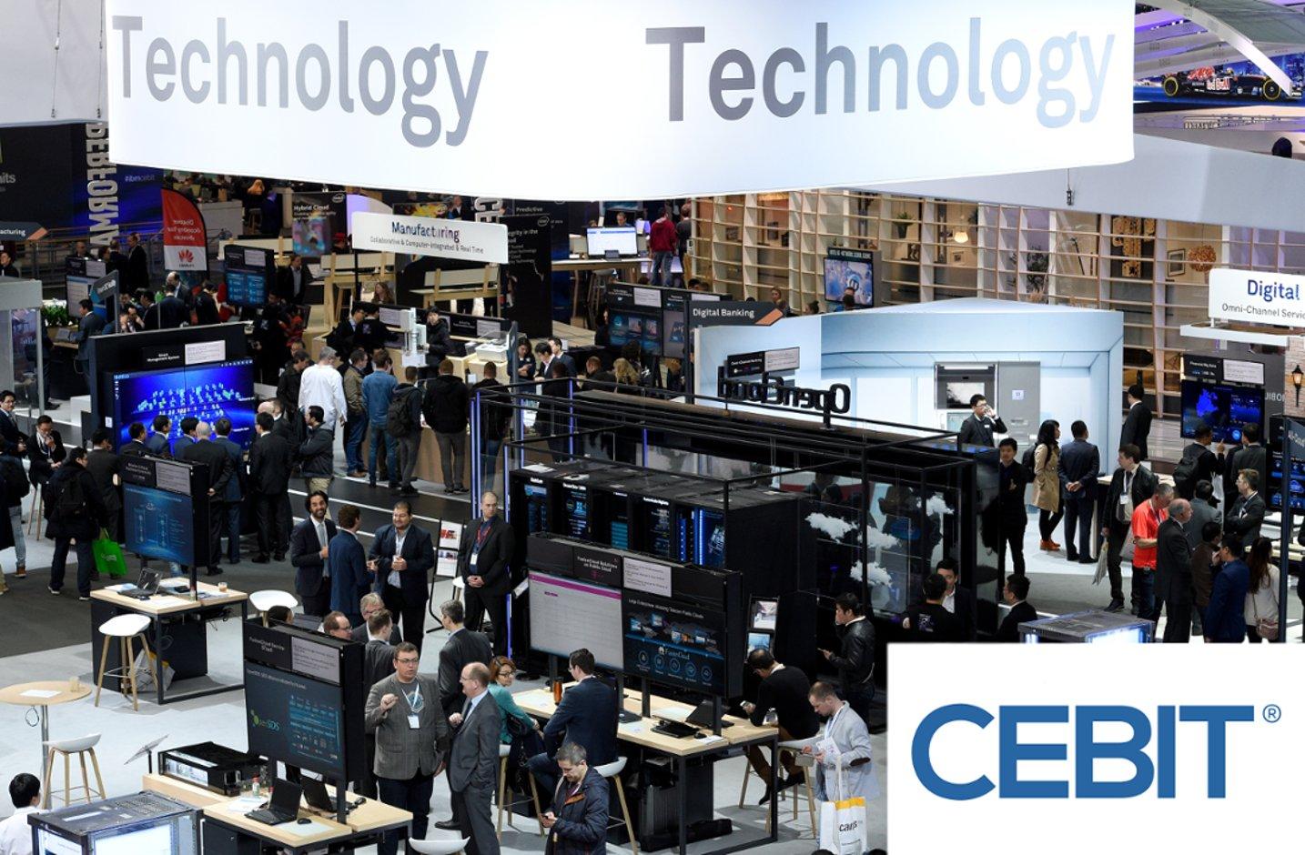 cosinuss°at Europe's Business Festival for Innovation & Digitization, CEBIT 2018
