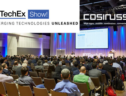 cosinuss° keynote speech at the IDTechEx Conference Show 2018