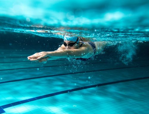 Heart rate monitoring for swimmers