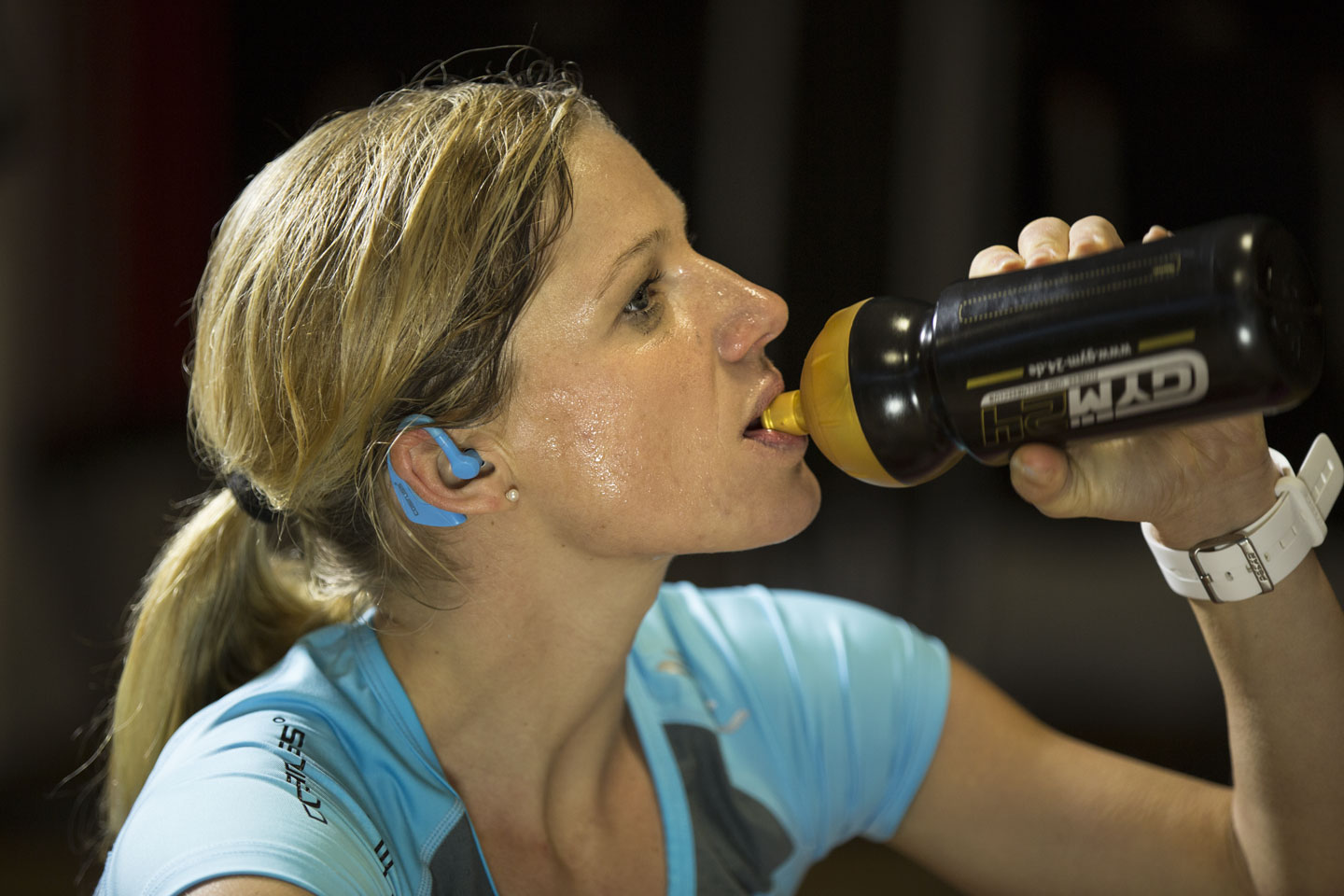 Drinking during training