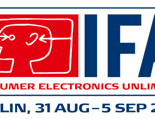Wir, cosinuss° sind mit dabei. IFA 2018, die weltweit führende Messe für Consumer electronics und home appliances.