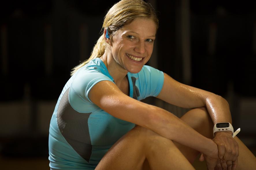 Anja - Profi Athletin