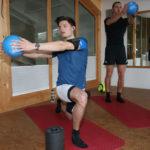Körperliche Fitness im Rennsport wird zu jeder Zeit trainiert