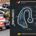 cosinuss race track and formula one racing cars