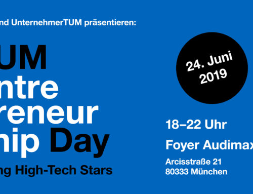 Cosinuss° at the Entrepreneurship Day 2019 of TU Munich