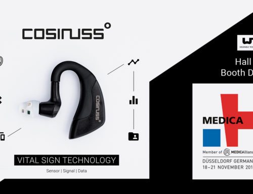 Cosinuss° at the Medica 2019