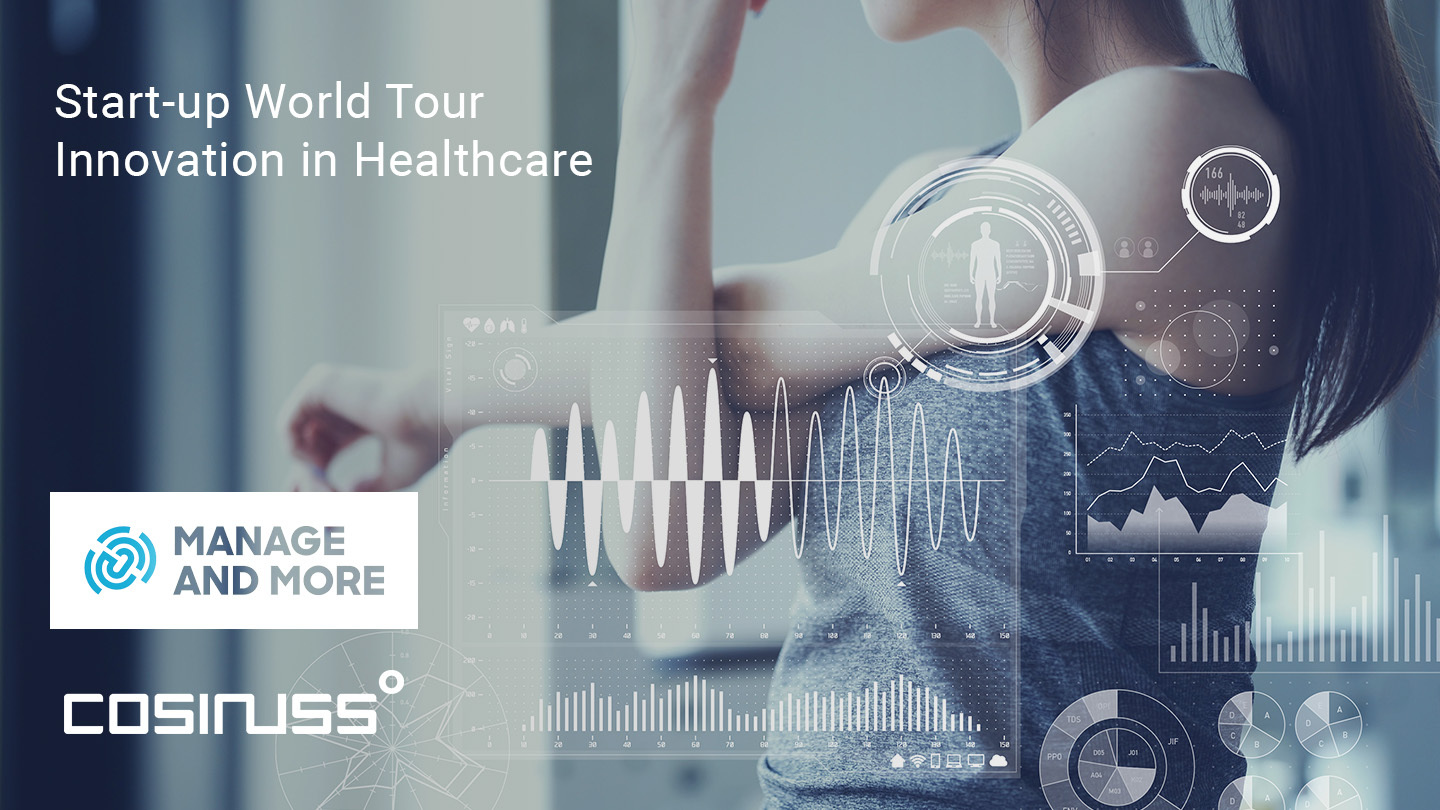 Cosinuss at Start-up World Tour: Innovation in Healthcare
