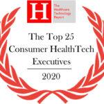 cosinuss award the top 25 consumer healthtech executives 2020