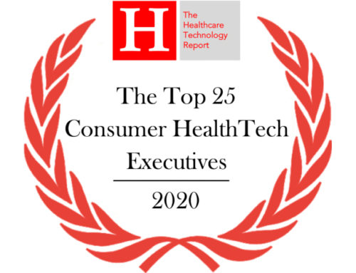 Award: The Top 25 Consumer HealthTech Executives of 2020