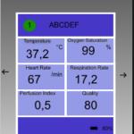 Beispiel für die Darstellung der Datensätze.