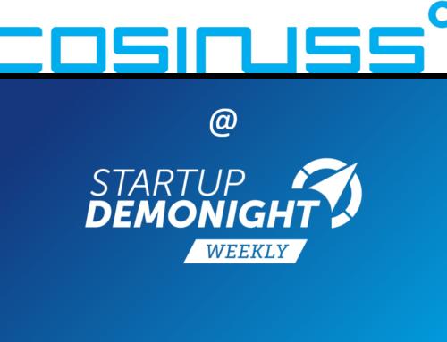 cosinuss° zu Gast bei BayStartUP DemoNight WEEKLY